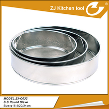 stainless steel mesh sieve with high quality kitchen tool