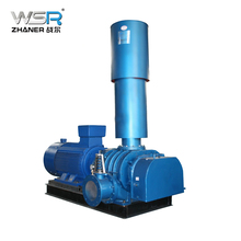 sewage treatment ZhanEr WSR80 air roots blower for 4kw, 34.3kpa