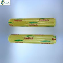 Safe and high quality plastic pvc cling wrap film of food grade