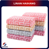 100% bamboo bath towel and washcloth sets,Chinese elements Swastika pattern, 420 g, 70*140 cm ,organic cleaning products