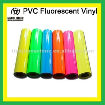 PVC Heat transfer fluorescent vinyl