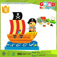 Wholesale Newest Design and Top Quality Educational Toy Wooden DIY Puzzle
