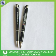 Customized Logo Colorful Hotel Metal Pen