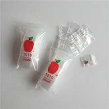 Transparent Apple Bags- <strong>1</strong>&quot; <strong>x</strong> <strong>1</strong>&quot; - 2.Mil- <strong>1</strong>,000/pack