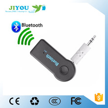 JIYOU Portable Speaker Bluetooth Receiver 3.5mm Jack Car Bluetooth AUX Audio Receiver Adapter