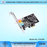 Factory directly sale 32 Bit 6 Channel Karaoke Sound Card for Computer