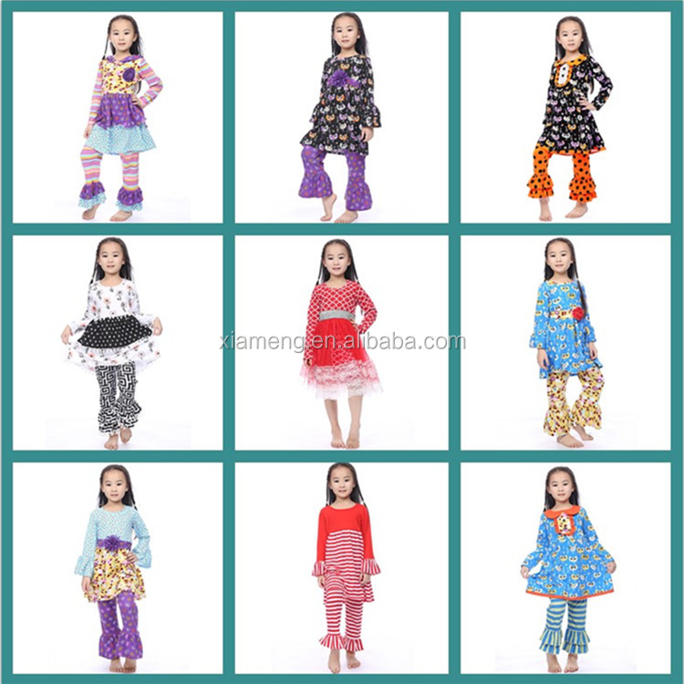 factory directly 2015 latest wholesale children's boutique clothing
