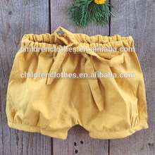Summer Leisure Hot Clothing Bloomers Short Pants Linen Tighten The Waist Shorts