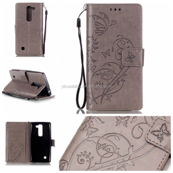 For LG C90 Wallet Style Flip PU Leather Case with Photo Frame & Card Holder For LG C90 Smart Stand