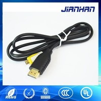 High Speed Cable with HDMI, Mini HDMI,Micro HDMI In 1.5 Meter