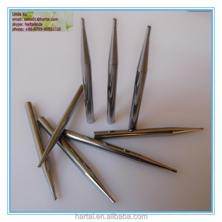 motor winding tools exactitude instrument guide needle mirror finishing tungsten carbide wire leading tube