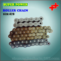 China manufacturer motorcycle spare parts motorcycle chain and sprocket kits
