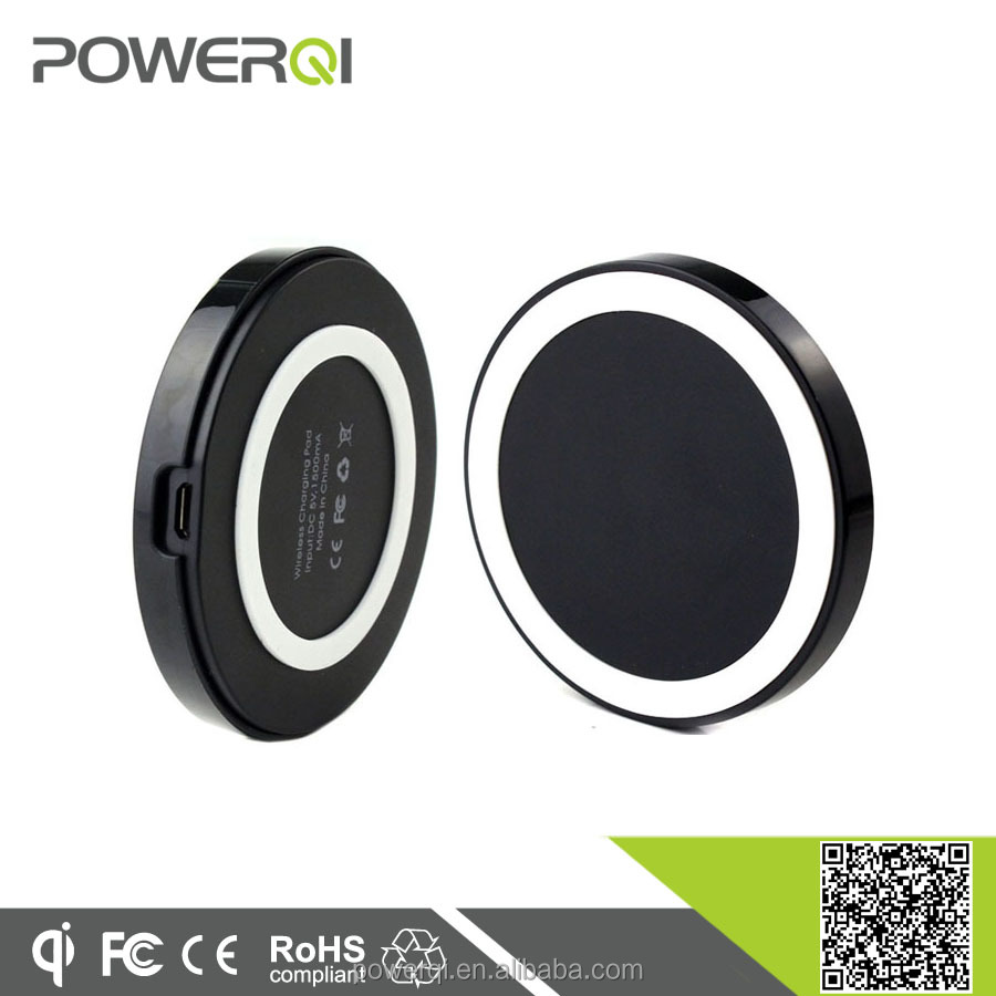 Powerqi wireless charger Qi certified wireless charging mobile phone,universal charger
