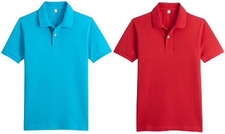 Top Quality Pinque Embroidery Polo T Shirt Plain T Shirts