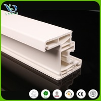 customized full body color upvc profile
