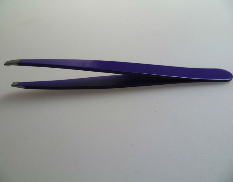 stainless steel eyebrow tweezers,various colors and sizes are available
