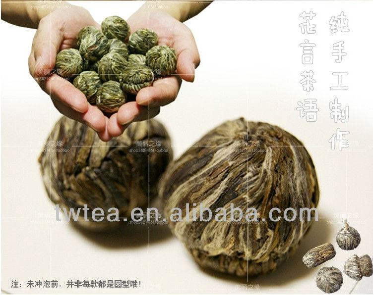 中国の咲く花のティーボールギフ...