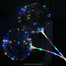 wholesale 2018 new 18 inches led bobo balloon party balloon to decorative Party