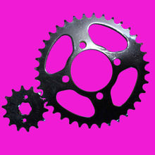 YBR125 motorcycle chain sprocket