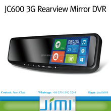 2015 Newest Android Rearview Mirror with 3G GSM WIFI Car Black Box Bluetooth GPS Navigation