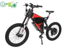 RisunMotor Exclusive Customized Electric bike 2017 3000W Mountain eBike/72V 3000W FC-1 Stealth Bomber Electric bicycle