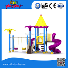 Interesting amusement park outdoor school playground equipment items