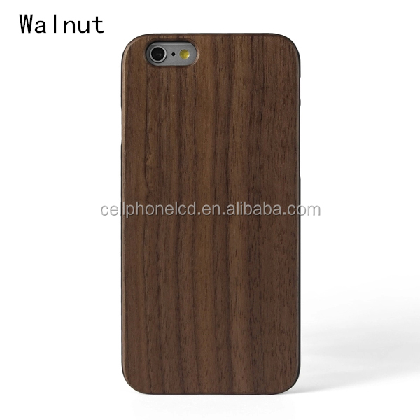 Anti-Fingerprints Wooden Bamboo Hard Case for iPhone 6 4.7inch