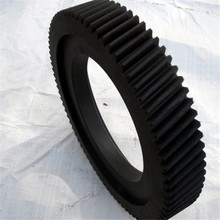 Black POM/Plastic/Nylon gears (Professional supplier)