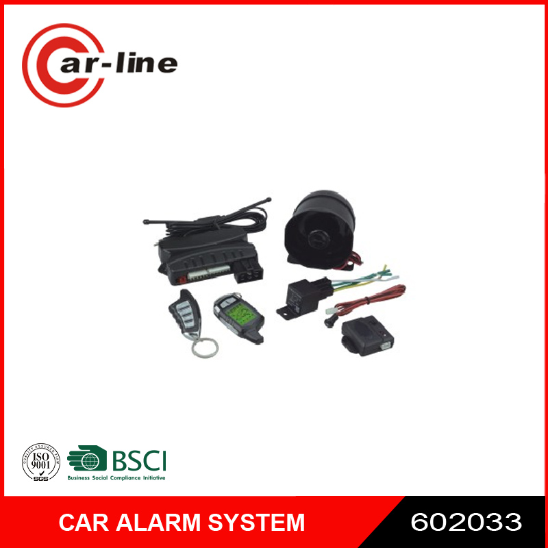 Manufacturer one way car alarm systems With CE and ISO9001 Certificates