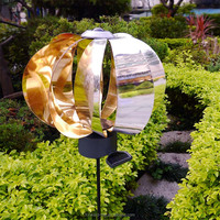Wind&Sun - Solar&Wind-powered garden fans light
