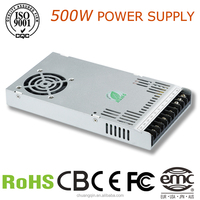 CQ-500w single output 12v 500w 40a dc off line smps led switching power supply
