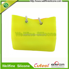 silicone rubber beach bag & beach fashion bag