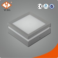 Item 1010 Square Aluminum GS Approved Outdoor LED Ceiling Light