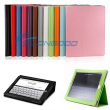 Folio Wake up/Sleep Leather magnetic slim leather smart cover stand case for iPad Mini iPad Mini Retina