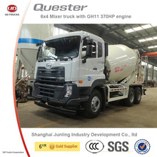 Nissan UD quester 9m3 6x4 concrete mixer truck for sale (Volvo group)