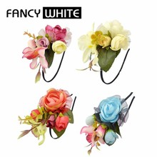 New online products bulk fancy ladies decorative flower diy hair accessory
