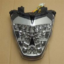 FTLHD023 Motorcycle Intergrated LED Tail Light With Turn Signals For CBR250R CBR250 R CBR 250 R 2011 2012 Lense Color Dark