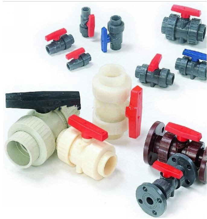 "12"" Plastic PVC ball valve price list"