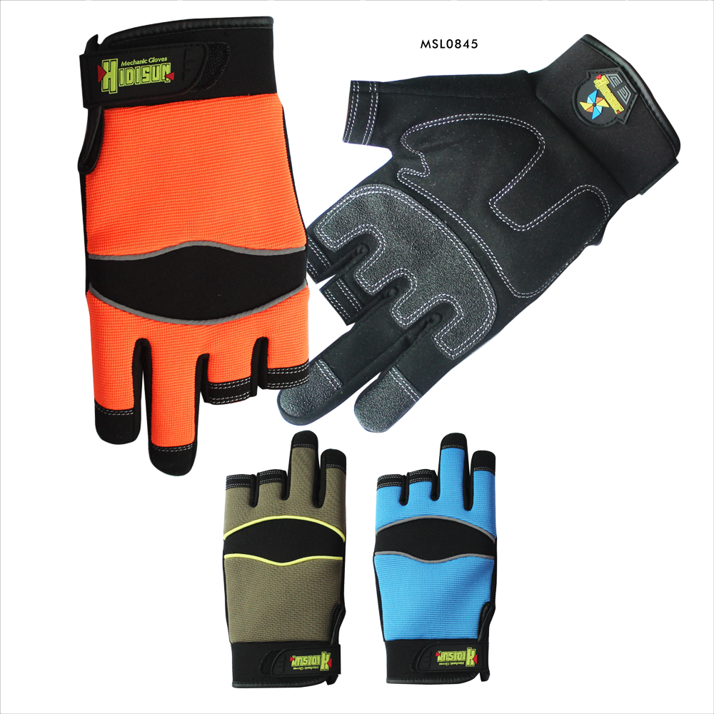 beautiful durable nylon liner and spandex nitrile gloves