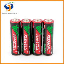 Steady running r6P aa size mp3 dry battery cell in good performance