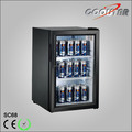 Small capacity retail beverage cooler 68L