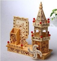 Luxury deluxe wooden music box Sankyo music movement dancing ballerina jewelry box
