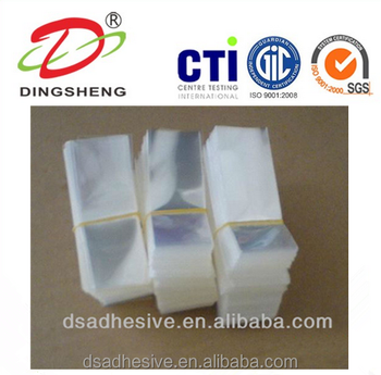 Small PE/PP/PO Blank Plastic Packing Flat Bag