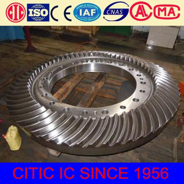 Lime rotary kiln parts gear box gear price