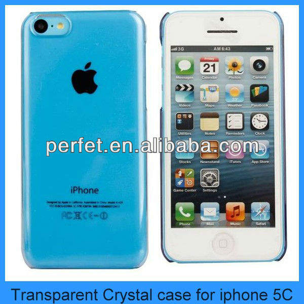 Cell phone back case housing for iphone 5c pc phone case
