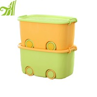 Stackable Moving Plastic Box Cloth/Toy Storage Container