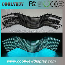 P10 outdoor flexible led mesh curtain