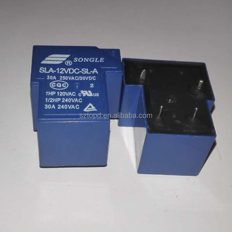 Hot selling SONGLE SLA-12VDC-SL-A 12VDC relay SLA 12VDC relay