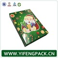 Custom Design Folding Magnetic Christmas Gift Box Packaging With Stereo Paper Card
