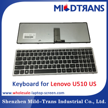 US LAYOUT NOTEBOOK KEYBOARD For IBM Lenovo IdeaPad U510 Z710 15.6""